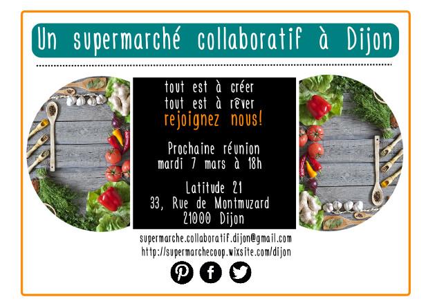 Création d'un supermarché collaboratif à Dijon