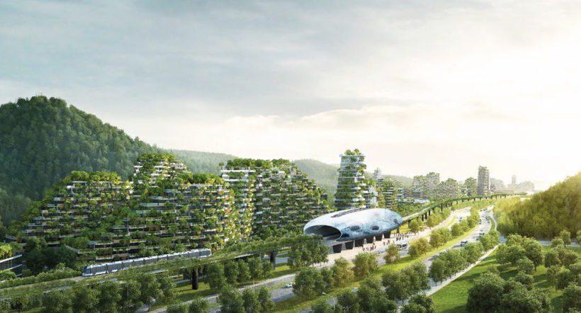 La Chine a commencé la 1ère ville forêt au monde