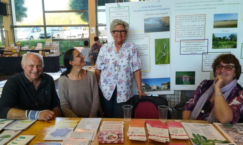 Le CAPREN présent à la 35ème Foire Ecologique de Semur-en-Auxois