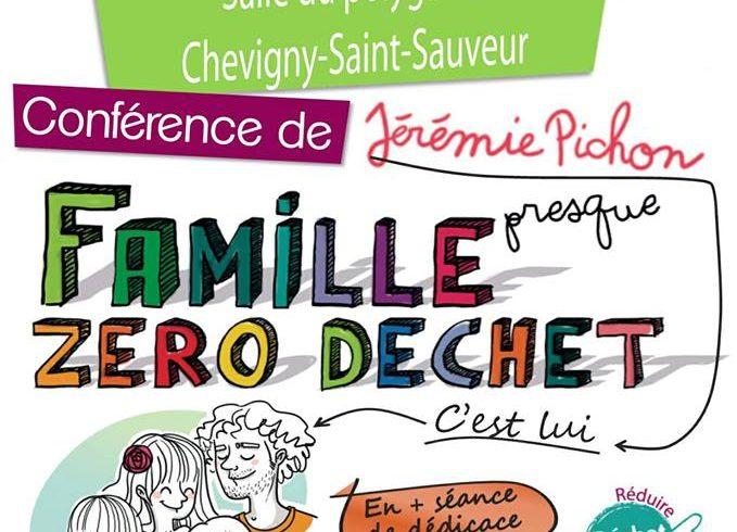 Mardi 16 Janvier 2018 – Conférence La Famille « presque » ZÉRO DÉCHET