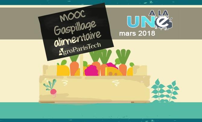 Lancement du 1er MOOC professionnel et grand public sur le gaspillage alimentaire