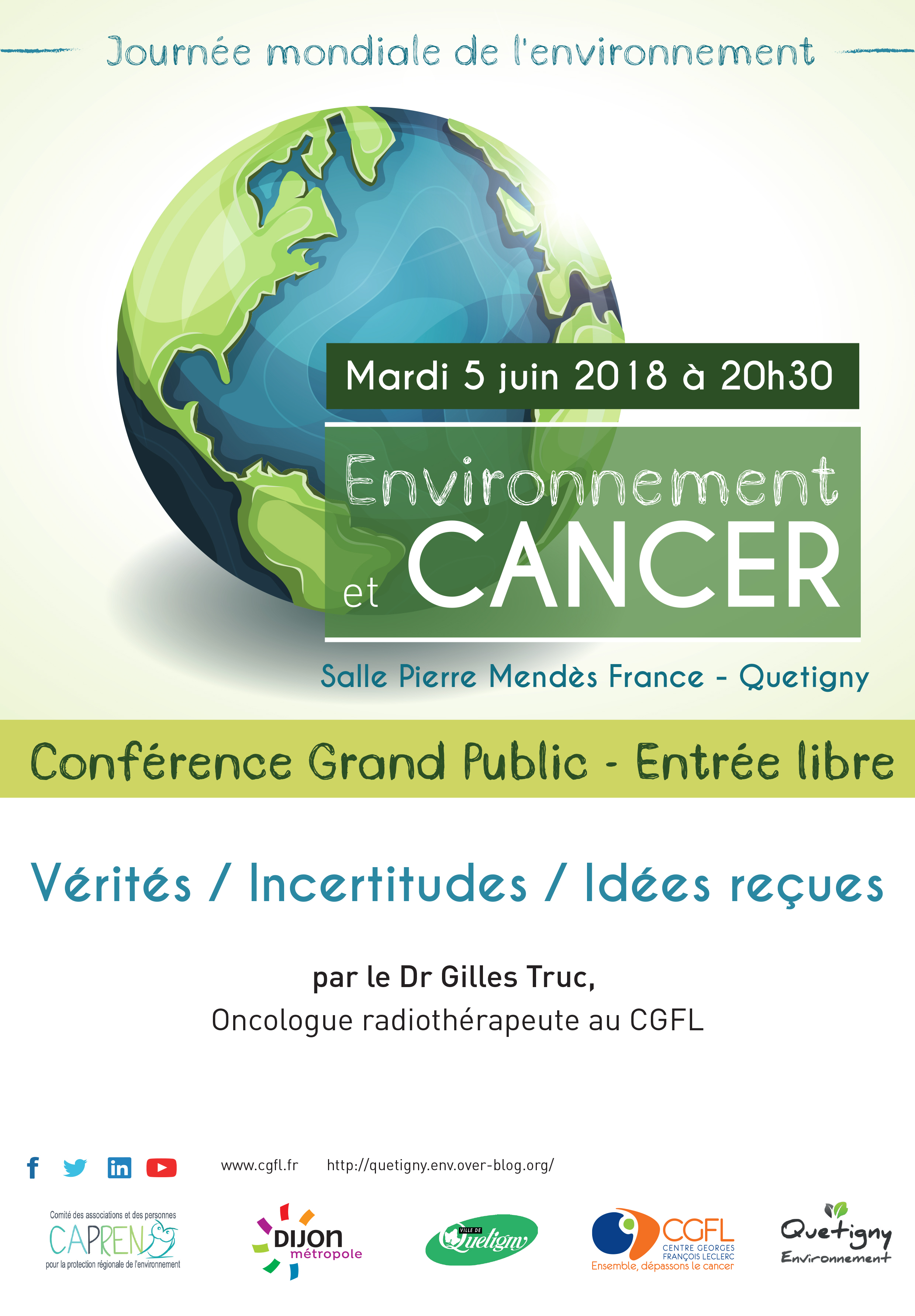 Conférence Environnement & Cancer