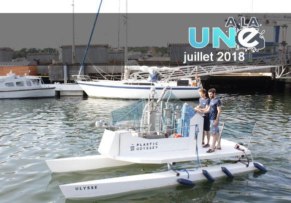 Plastic Odyssey : un tour du monde avec un bateau qui transforme les déchets en carburant