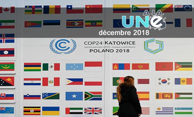 Réchauffement climatique, ouverture le 2 décembre de la COP 24 en Pologne