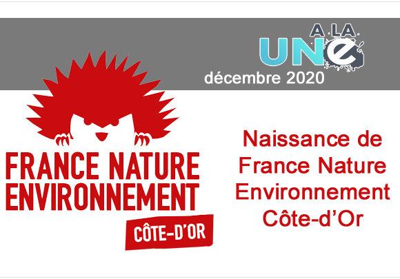France Nature Environnement Côte-d'Or est née