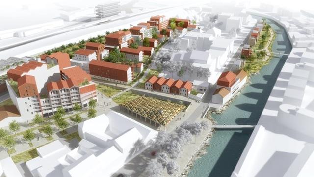 Aménagement du quartier des Tanneries à Dijon, Projet Bruges II