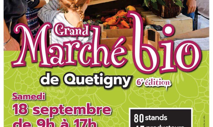 Grand marché bio de Quetigny le 18 septembre 2021